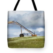 Hay Bale Loader Tote Bag