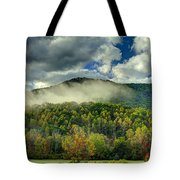 Hay Bales In The Morning Tote Bag
