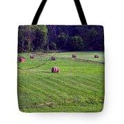 Hay Field Tote Bag