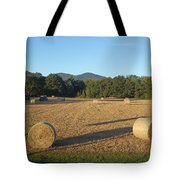 Hay Field Tote Bag