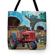 Hay Rides Trailer Tote Bag
