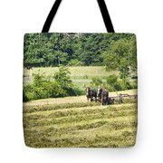 Hay Season Tote Bag