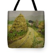 Hay Stack Tote Bag by Lilibeth Andre