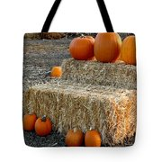 Hay Steps Tote Bag