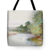 Haymaking Near Marlow Tote Bag