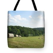 Haymaking Season Tote Bag