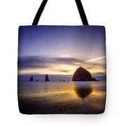 Haystack Afterglow Tote Bag