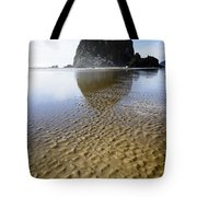 Haystack Rock At Cannon Beach Tote Bag