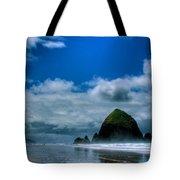 Haystack Rock V Tote Bag