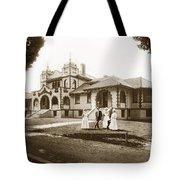 Hazel Hawkins Hospital Monterey Street Hollister California Circa 1907 Tote Bag