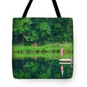 Hazy Summer - Patriotic Dock Tote Bag