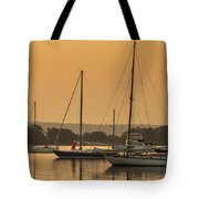 Hazy Tranquility Tote Bag