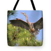 Hb In The Pines Tote Bag
