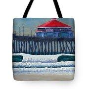 Hb Pier Tote Bag