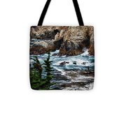 hd 429 The Toe 3 Tote Bag by Chris Berry