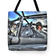 Hdr Image Of Pilots Equipped Tote Bag
