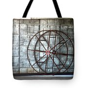 Hdr Industrial Cable Spindle Tote Bag