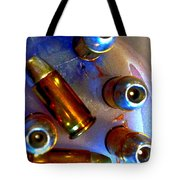Bullet Art - Hdr Photography Of .32 Caliber Hollow Point Bullets Art 4 Tote Bag