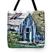 Hdr Tin Patch Roof Barn Tote Bag