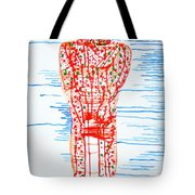 He Bore It Silently Tote Bag
