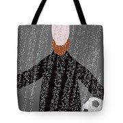 He Has The Ball Tote Bag