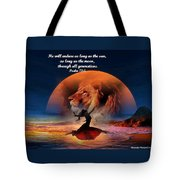 He Will Endure Tote Bag