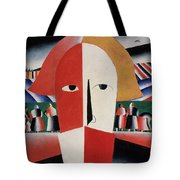 Head Of A Peasant Tote Bag