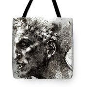 Head Of A Satyr  Tote Bag