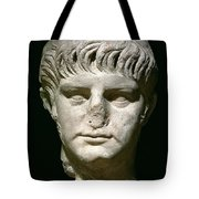 Head Of Nero Tote Bag by Anonymous