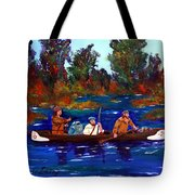 Heading For Rendezvous Tote Bag