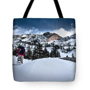 Heading For The Peak Tote Bag