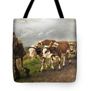 Heading Home Tote Bag by Deborah Strategier
