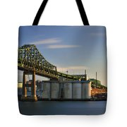 Heading Into Charlestown Tote Bag