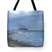 Heading Into The Fog Tote Bag