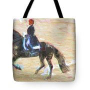 Heading Into The Ring Tote Bag