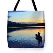 Heading Out At Sunset Tote Bag