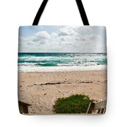Heading To The Beach Manalapan Florida Tote Bag