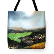 Heading To The Green Land Tote Bag