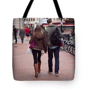 Heading To The Station Tote Bag