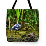 Headless Heron Tote Bag