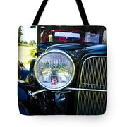 Headlight Of The Past 2 Tote Bag