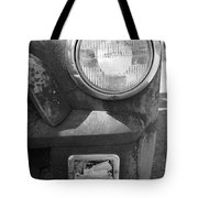Headlight Of The Past Tote Bag