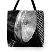 headlight205 BW Tote Bag