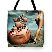 Heads Tote Bag