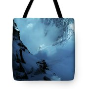 Headwall Mount Blanc Tote Bag