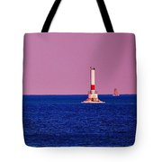Headwater Lights Tote Bag