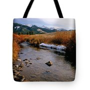 Headwaters Of The River Of No Return Tote Bag
