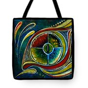Healer Spirit Eye Tote Bag