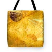 Healing In Golden World Tote Bag