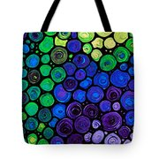 Healing Light - Mosaic Art By Sharon Cummings Tote Bag